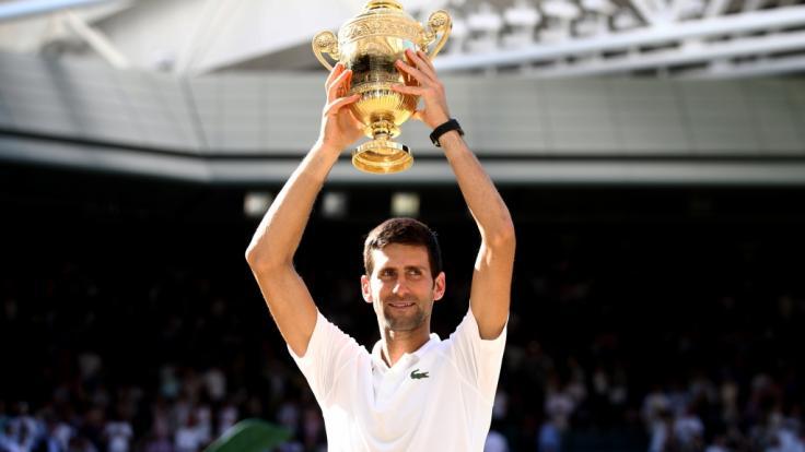 Novak Djokovic wiederholte 2019 seinen Wimbledon-Triumph vom letzten Jahr! (Foto)