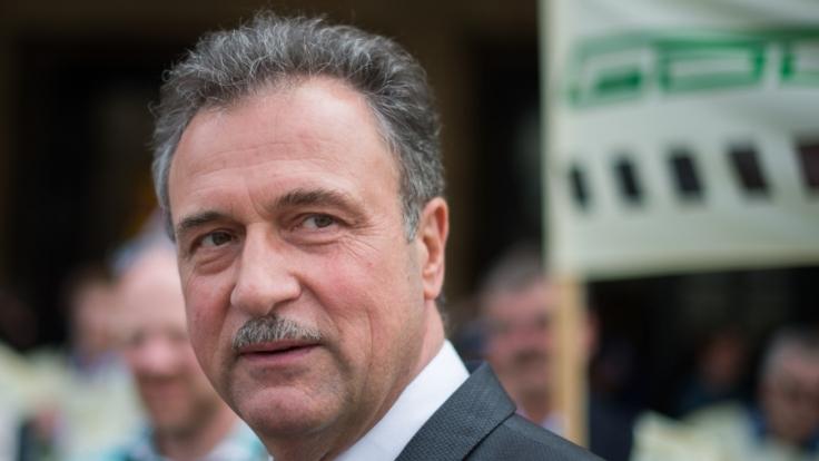 Claus Weselsky plant voerst keine Bahnstreiks. (Foto)