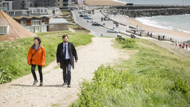 Ellie Miller (Olivia Colman) und Alec Hardy (David Tennant) werden es auch in Staffel Zwei nicht leicht haben. (Foto)