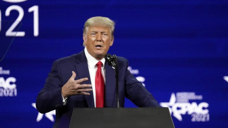 Donald Trump sorgte wieder für reichlich Schocker. (Foto)