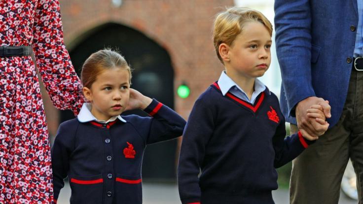 Bangen um ihre Gesundheit: Sind Prinz George und Prinzessin Charlotte in Gefahr?