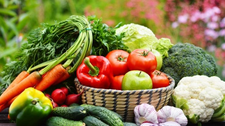 Vor allem Obst und Gemüse stehen beim Peganismus auf dem Speiseplan. (Foto)