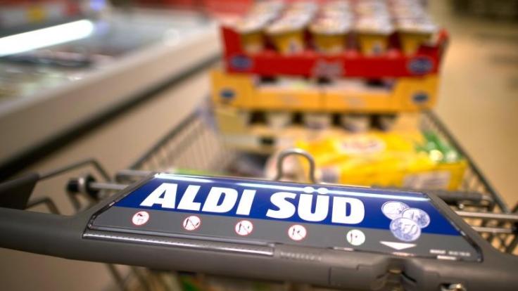 Aldi schürt die Konkurrenz mit Lidl. (Foto)