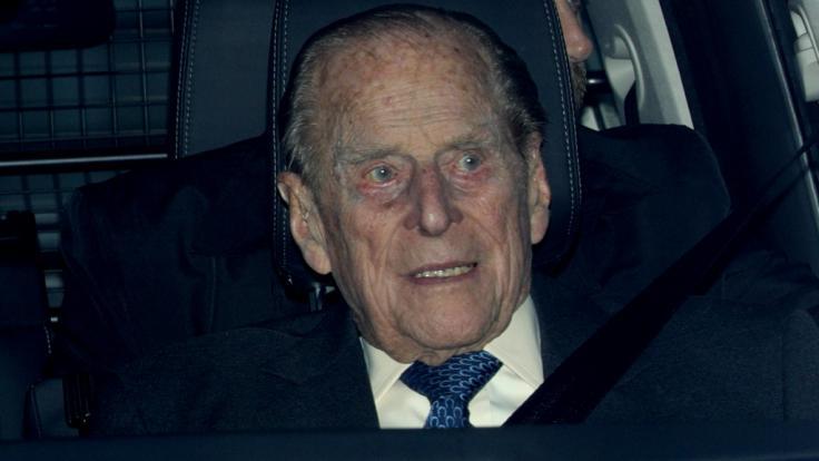 Prinz Philip war im Januar 2019 in einen Autounfall verwickelt.