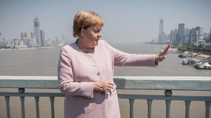 Bringt der Staatsbesuch von Angela Merkel China voran? (Foto)