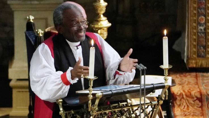 Bischof Michael Curry, der bei der Trauung von Meghan Markle und Prinz Harry eine bedeutende Rede gehalten hat, ist an Krebs erkrankt.