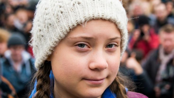 Greta Thunberg ist immer wieder Ziel des Hasses, wie Auto-Aufkleber zeigen.