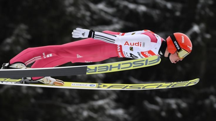 Eric Frenzel will zu neuen Siegen in der Nordischen Kombination fliegen.