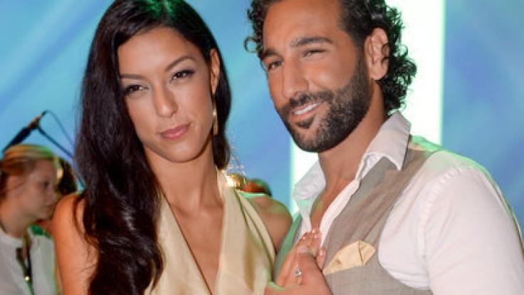 Rebecca Mir und Ehemann Massimo Sinató.