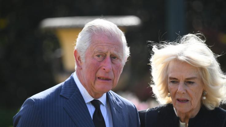 Prinz Charles und Herzogin Camilla sind gewappnet für den Ernstfall. (Foto)