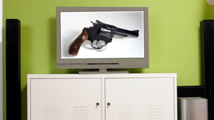 Die Deutschen sind treue TV-Zuschauer - vor allem, wenn ein Krimi läuft. (Foto)