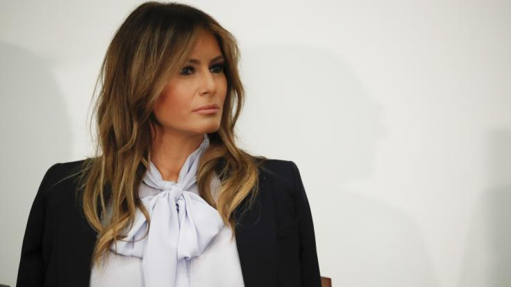 Welche Gefühle wirklich in Melania Trump vorgehen, versteht die Ehefrau des US-Präsidenten geschickt zu verbergen.