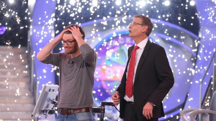 Moritz Eckert hat beim Jackpot-Spezial von Günther Jauchs WWM knapp 1 Million gewonnen. (Foto)