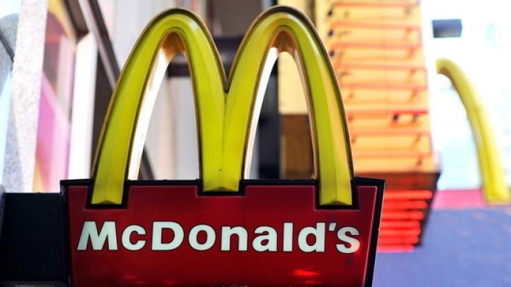 McDonalds Süßspeisen sind zu kalorienhaltig für die vorgeschriebenen Tagesrationen.