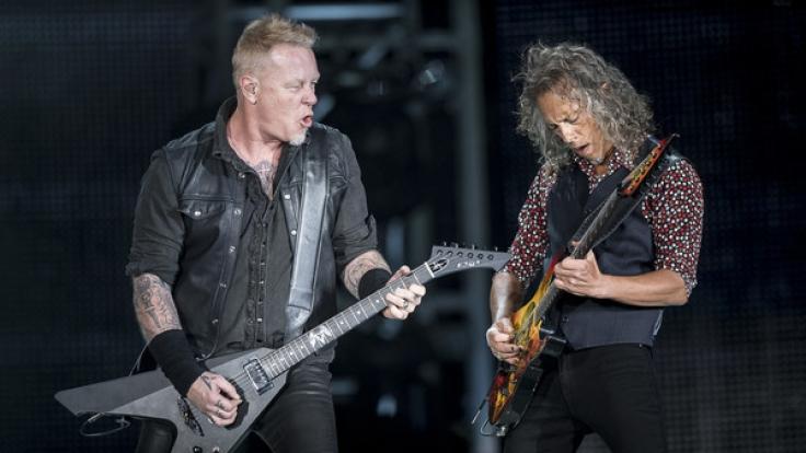 Metallica gehen 2017/18 auf große Tournee - James Hetfield, Kirk Hammett und Co. kommen dabei auch für mehrere Konzerte der