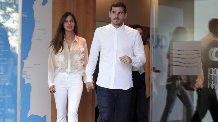 Iker Casillas und Sara Carbonerosind seit 2016 verheiratet. (Foto)