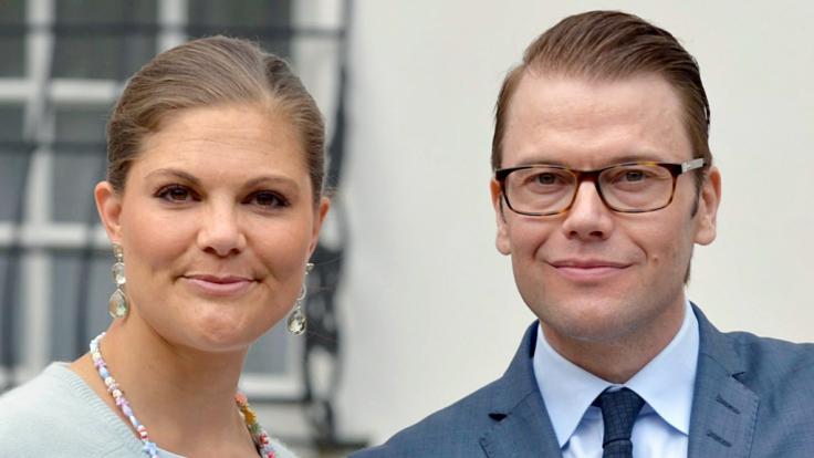 Kronprinzessin Victoria von Schweden und ihr Ehemann Prinz Daniel. (Foto)