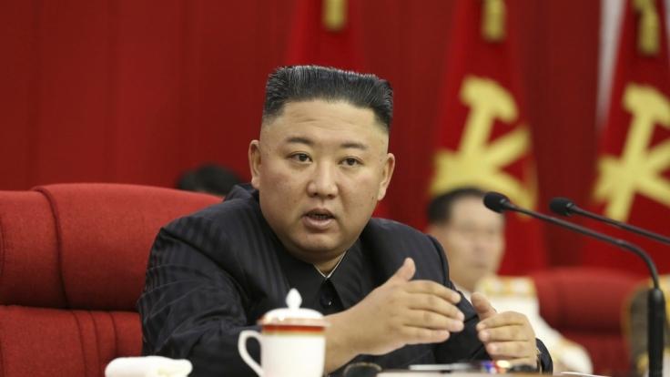 Das Volk ist in Sorge um Kim Jong-un. (Foto)