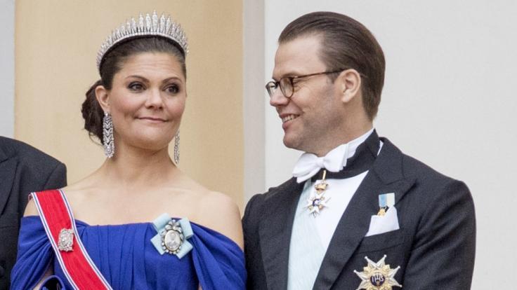 Kronprinzessin Victoria und ihr Mann Prinz Daniel.