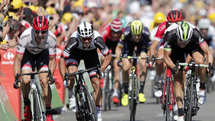 Die Tour de France ist für die Sportler kein leichtes Unterfangen.