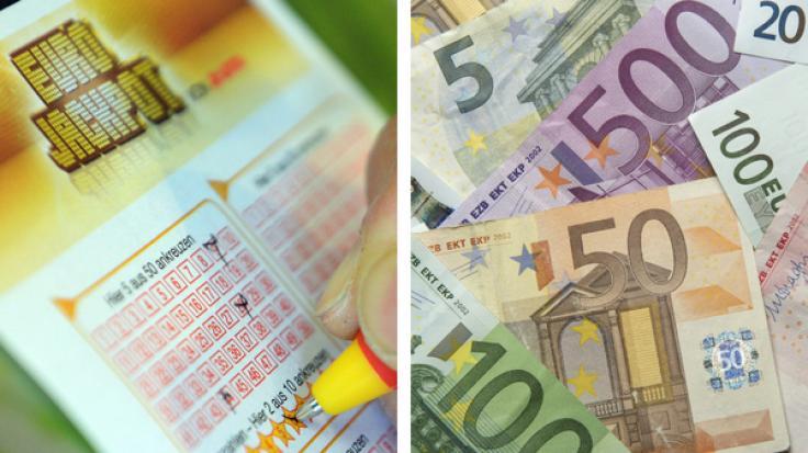 Was tun mit dem Eurojackpot-Gewinn, wenn man alle sieben Zahlen richtig getippt hat? (Foto)