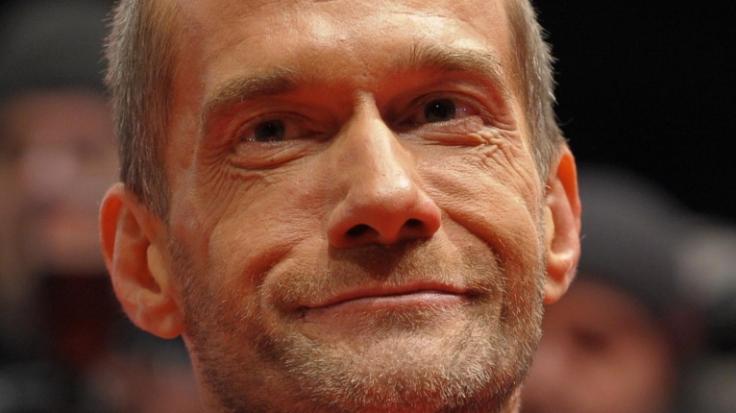 Fahl und ausgelaugt:Georg Uecker im Februar bei der Berlinale. (Foto)