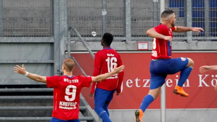 Heimspiel KFC Uerdingen 05: Die aktuellen Spielergebnisse der 3. Liga bei news.de (Foto)