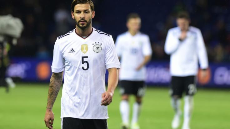Marvin Plattenhardt steht seit 2017 in der Deutschen Nationalmannschaft.