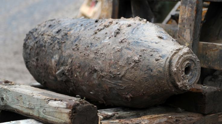 Etwa 100.000 unentdeckte Fliegerbomben gibt es in Deutschland noch. (Foto)