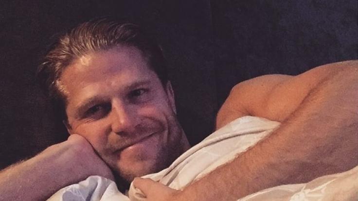 Heißes Bett-Selfie von Paul Janke. (Foto)