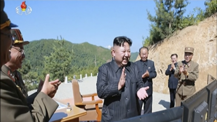 Gefährdete Kim Jong-Uns jüngster Raketentest ein Passagier-Flugzeug? (Foto)