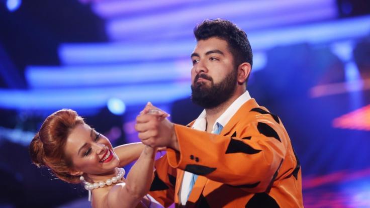 """Bei """"Let's Dance"""" reichte es für Faisal Kawusi und Oana Nechiti im Jahr 2018 nur für Platz fünf. (Foto)"""