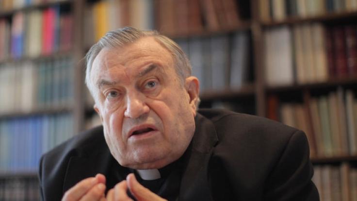 Frustriert? Kardinal Lehmann ist angeblich Mitglied der Kardinals-Mafiosi.