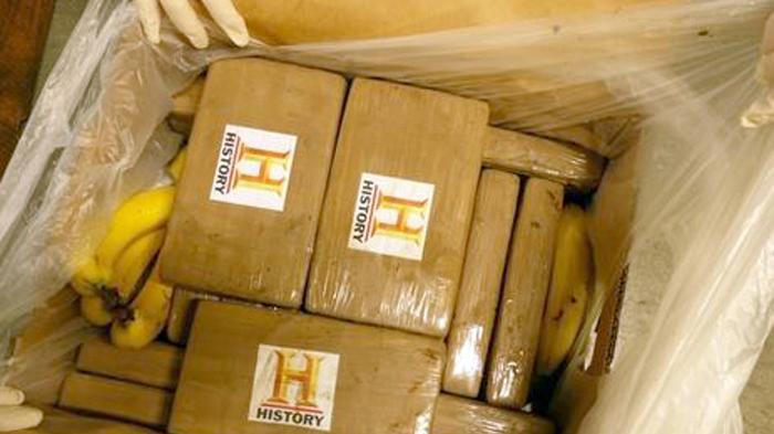 In Valluhn, Mecklenburg-Vorpommern wurden hunderte Kilo Kokain in Obstkisten entdeckt. (Foto)