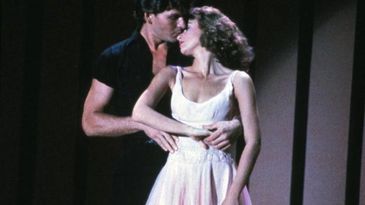 Auf der Leinwand war und ist ihr Zusammenspiel magisch: Patrick Swayze und Jennifer Grey in Dirty Dancing. (Foto)