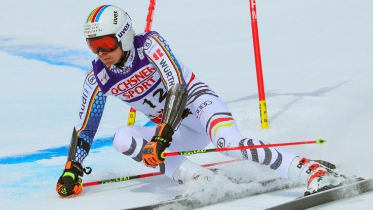 Stefan Luitz beim Riesenslalom. (Foto)