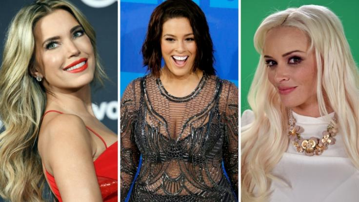 Sylvie Meis, Ashley Graham und Daniela Katzenberger (v.l.n.r.) sind nur drei der Promi-Damen, die sich auf Instagram in verboten heißer Bademode präsentierten. (Foto)