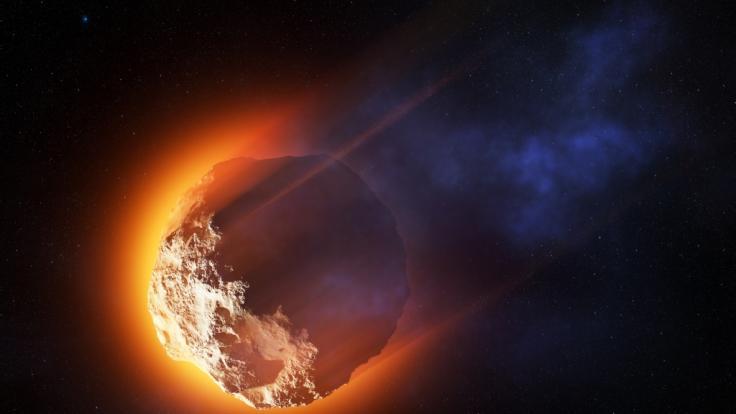 Ein 120-Meter-Asteroid rast aktuell auf die Erde zu. (Foto)