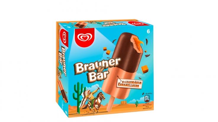 """""""Brauner Bär"""" ist zurück im Eisregal. (Foto)"""
