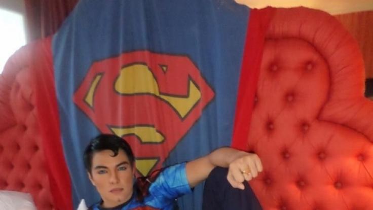 Herbert Chavez alias der philippinische Superman.