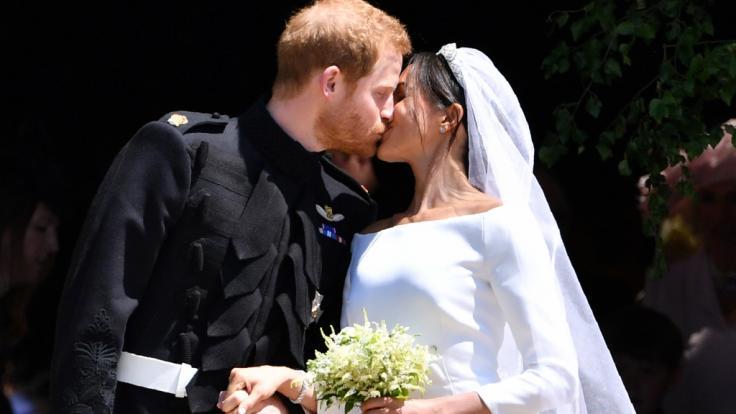 Nicht für jeden war die Hochzeit von Meghan Markle und Prinz Harry eine traumhafte Angelegenheit. (Foto)