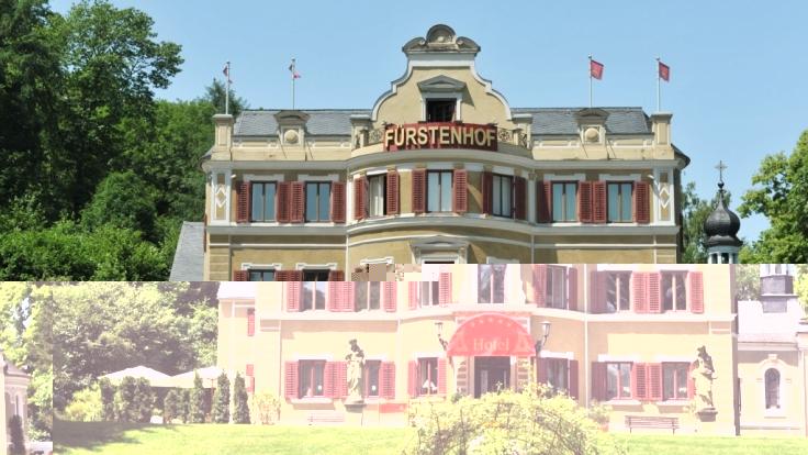 Der Fürstenhof, ein fiktives oberbayerisches Luxushotel, ist Schauplatz von