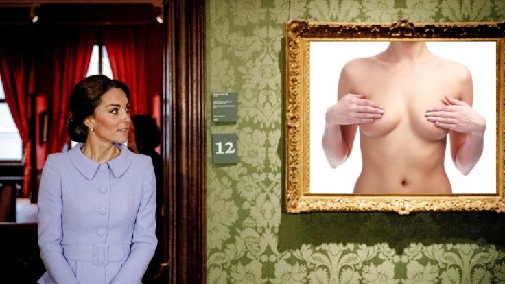 Herzogin Kate wurde nackt in der