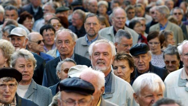 Der Anteil der Senioren an der Gesamtgesellschaft steigt. (Foto)