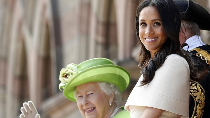 Meghan Markles Gesichtszüge wirken laut Royal-News vertrauenswürdiger als die der Queen. (Foto)