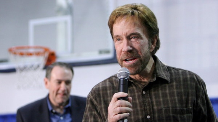 Chuck Norris lässt sich auch nach zwei Herzinfarkten nicht unterkriegen.
