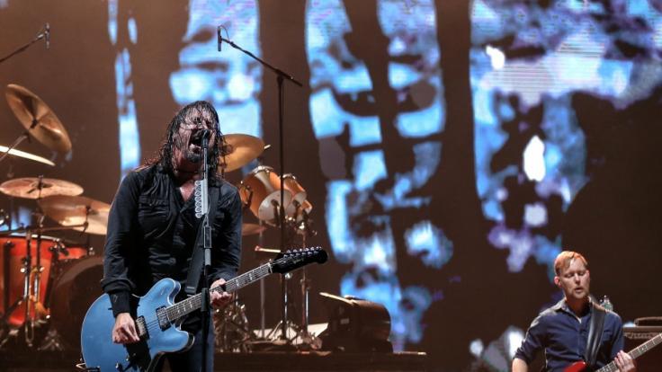 """Die Foo Fighters erhalten den """"Global Icon Award"""" bei den MTV Video Music Awards. (Foto)"""