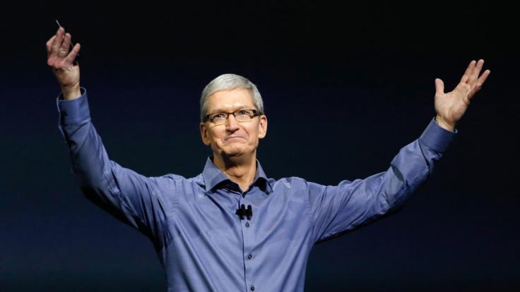 Apple-Chef Tim Cook wird auf der Keynote im September 2018 zahlreiche neue Produkte vorstellen.