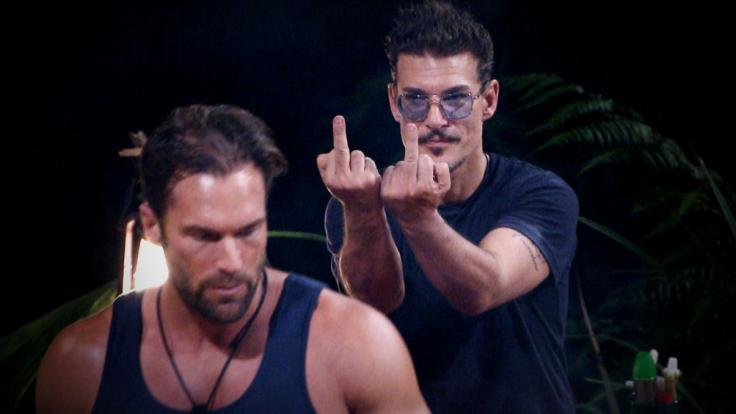 Richtige Freunde werden die beiden sicherlich nicht mehr: Bastian Yotta und Chris Töpperwien.