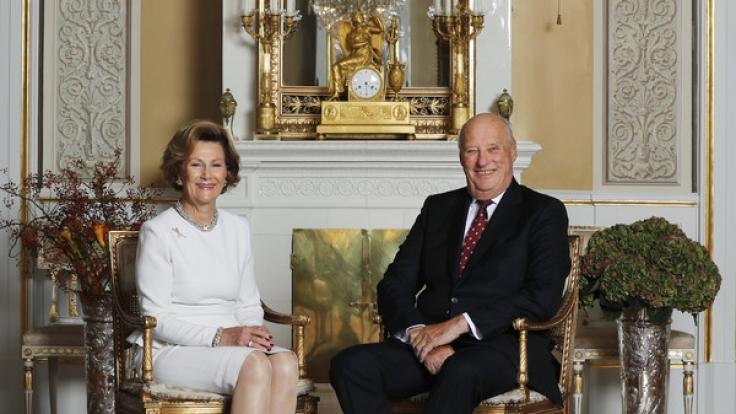 König Harald von Norwegen erfreut sich entgegen einer Nachrichtenmeldung bester Gesundheit.